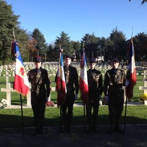 Cérémonies aux cimetières de la Gaudinière et de la Chauvinière